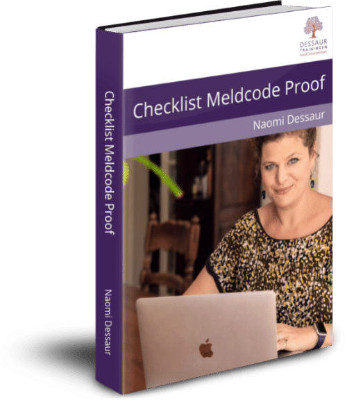 Checklist Meldcode Proof Dessaur Trainingen